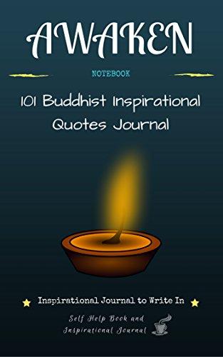 Awaken Inspirational Journal To Write In 60 Buddhist Stunning Self Help Quotes