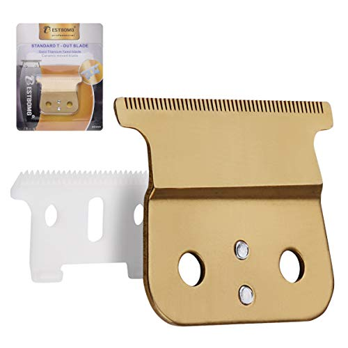 Professional Adjustable T Outliner Replacement Beard/Hair Trimmer Blade #04521-Standard Replacement Blade - Compatible with Andis T Outliner Trimmer Clippers