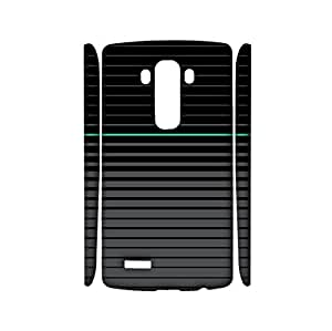 Geometric Shapes Stitching Background Printed Phone Case Snap on LG G4,Delicate Prevdent Durable 3D Hard Plastic Cover Fit LG G4