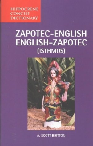 Zapotec-English/English-Zapotec (Isthmus) concise dictionary