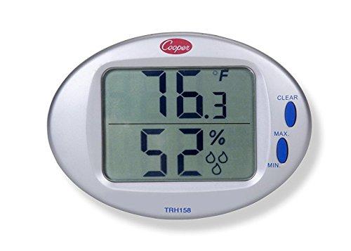 Bulk Min/Max Thermometer/Hygrometer 25/90% RH 32/122 F/C: Cooper Atkins TRH158-0-8 (31 Mini Max Thermometers)