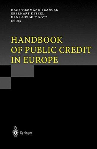 Handbook of Public Credit in Europe PDF
