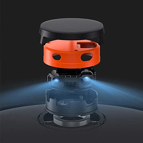 Aspirateur Robot avec APP Smart Control Robot De Nettoyage Planifié, Et Humide Aspirer Mopping/Nettoyage Prévu/Route Planification / 2000Pa Aspiration
