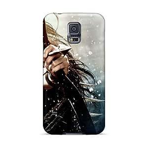 VIVIENRowland Samsung Galaxy S5 Shock Absorption Cell-phone Hard Covers Custom Vivid Rise Against Skin [QgD16371TGZr]