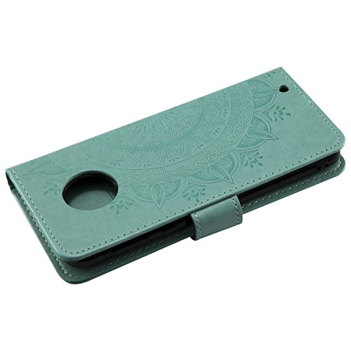 G6plus Cover Porta Magnetica G6 Carta Con Lohha10755 Per Totem Di fiore Chiusura Viola Motorola Pelle In Lomogo Credito Portafoglio Custodia Plus Verde Moto HPgxdnd