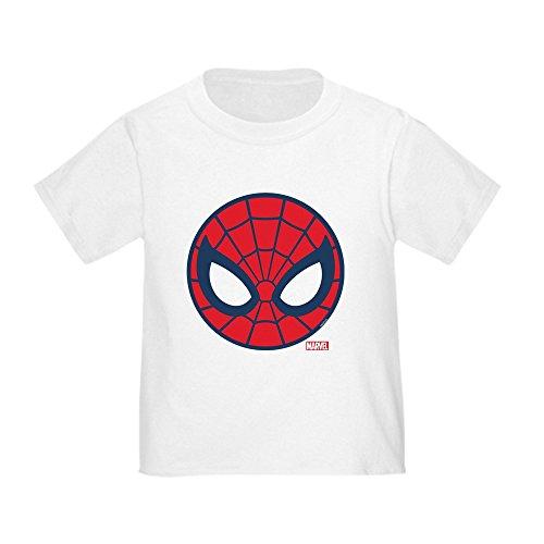 (CafePress Spider Man Icon Toddler T Shirt Cute Toddler T-Shirt, 100% Cotton White)