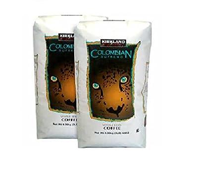 Kirkland Signature Colombian Supremo Whole Bean 2-3lb Bags
