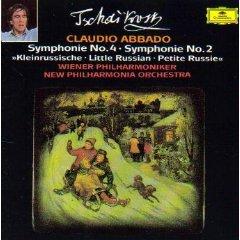 Sinfonias 2 Y 4 -Abbado-