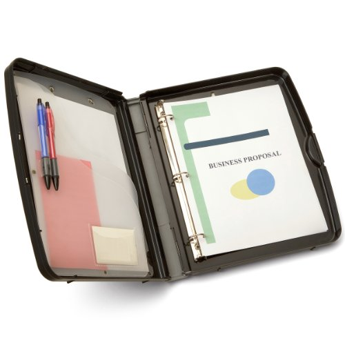 Officemate Recycled Ring Binder Storage Box, Letter/A4 Size, 11.5 x 2 x 13.125 Inches, Charcoal (83609)