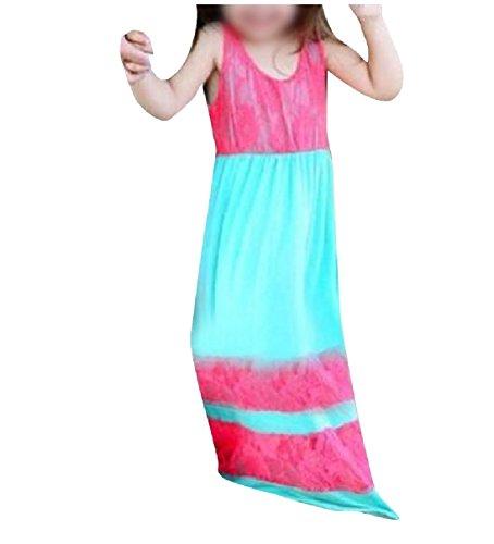 Rosa Vestiti Maxi Delle 4xs Lunga Vestiti merletto Famiglia Uguagliano Coolred Che Donne Rossa Della Tunica WqSwOaHY