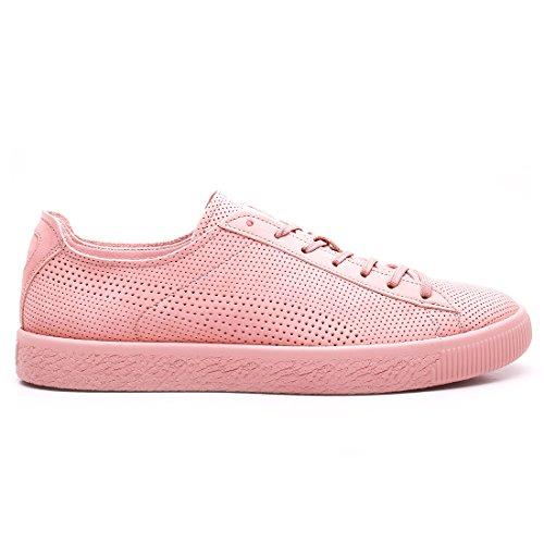 Puma Sélectionnez Mens Puma Select X Stampd Clyde Sneakers Camée Marron