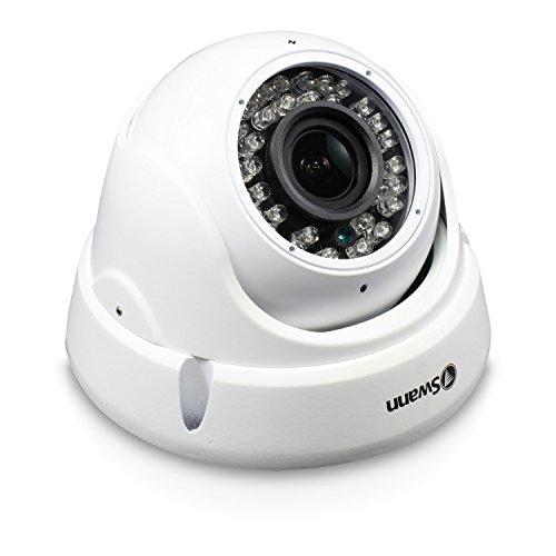 Swann Pro HD Zoom Dome Camera, White SWPRO-1080ZLD-US