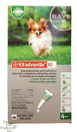 K9 Advantix 10 Green - 7