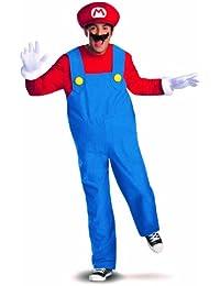 Super Mario Deluxe Mens Adult Costume