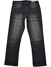 Mens Driven-X Basic Straight Stretch Jeans With Black Patch