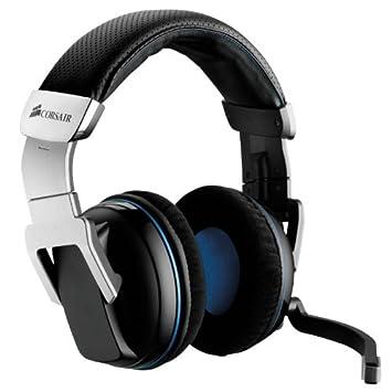Corsair Vengeance 2000 Binaural Diadema auricular con micrófono - Auriculares con micrófono (PC/Juegos, Binaural, Diadema, Inalámbrico, 12 m, ...