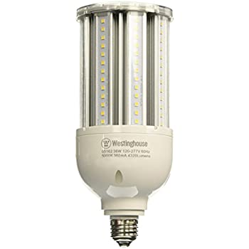Westinghouse Lighting 0516200 36-Watt T28 Daylight LED High Lumen Light Bulb with Medium Base