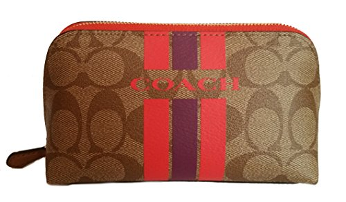 Coach Varsity Cosmetic Case MakeUp Bag by