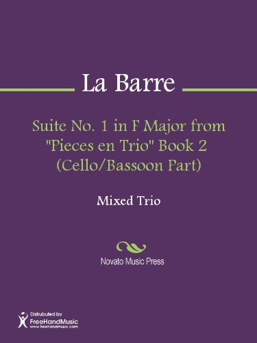 - Suite No. 1 in F Major from