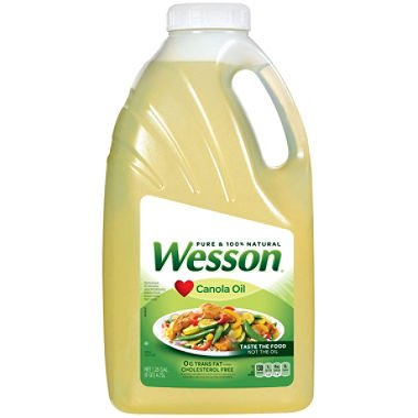Pure Wesson Canola Oil - 1.25gal - CASE PACK OF 4