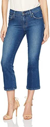 James Jeans Women's Cropped Boot Jean in Victory