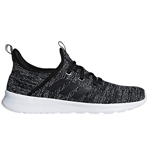 adidas Performance Women's Cloudfoam Pure Running Shoe, Black/Black/White, 8.5 M US