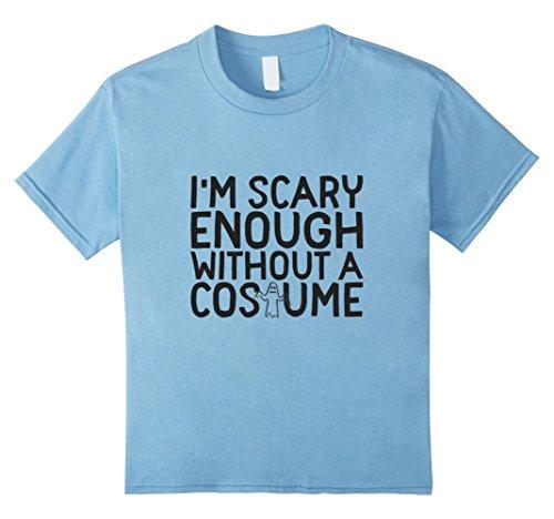 Kids Mom Costume - Easy Mom Costume - Halloween Shirt 8 Baby Blue