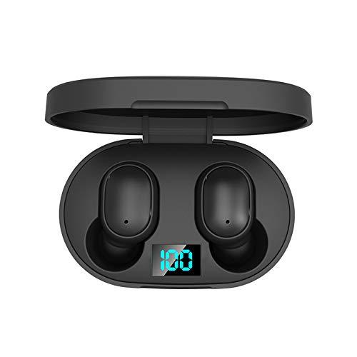 Dacorda E6S Wireless Earbud TWS True Bluetooth 5.0 Stereo Earphone Bass in-Ear Headset, Active Noise Cancelling Headphone