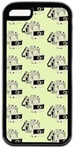 Retro Vintage Camera Pattern Theme Iphone 5c Case