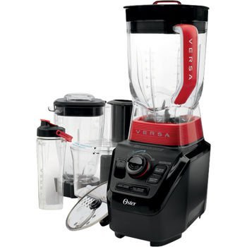 Oster Versa™ Performance Blender 1,100 W with Bonus Blender Jar, Food Processor and Blend N Go Cup attachments.