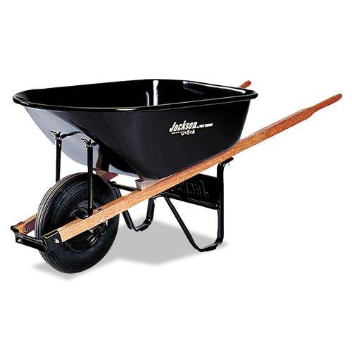 - Jackson® Contractors Wheelbarrows - 6cu.ft. steel tray contractor wheelbarrow
