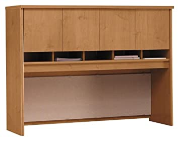 60 in. Hutch in Natural Cherry w 4 Doors - Series C