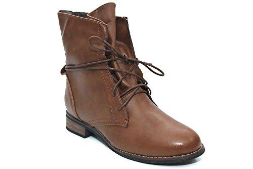 Mujer Shoes Mr De Para Marrón Material Botas Sintético FqYPqfn