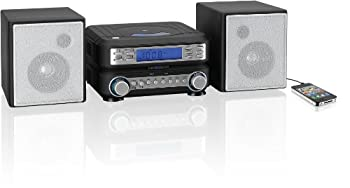 Gpx Hc221b Compact Cd Player Stereo Home Music System With Am Fm Tuner 1