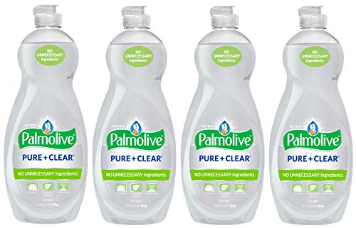 Palmolive Ultra Liquid Dish Soap, Pure and Clear, 4 -