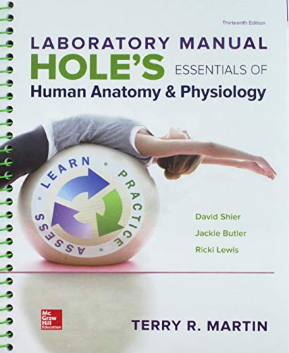 GEN COMBO LAB MANUAL HOLES ESS ANAT & PHYS; CONNECT W/LEARNSMART LABS AC