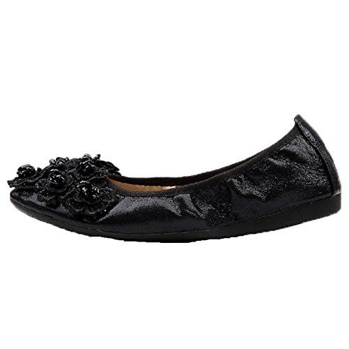 Uk Black Size Women's 9 Opsun Flats Ballet FnYn1g