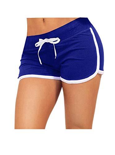 Women's Retro Running Drawstring Shorts