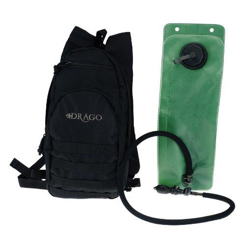 Drago Gear Hydration Packブラック B007V5BKKG