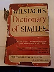 A Dictionary of Similes de Frank Jenners…