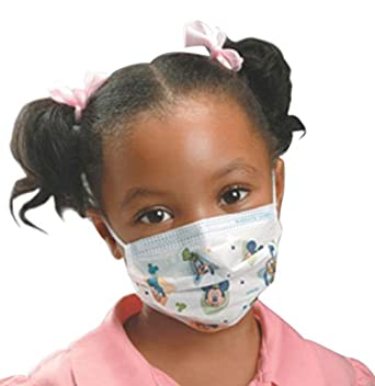 Face Health Child's 47127 Disney Featuring Mask Characters Halyard