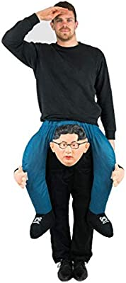 Bodysocks® Disfraz a Hombros (Carry Me) de Kim Jong-un para Adulto ...