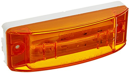 (Grote 47163 SuperNova Sealed Turtleback II LED Clearance Marker Light (PC Rated, Optic Lens, Male Pin) )