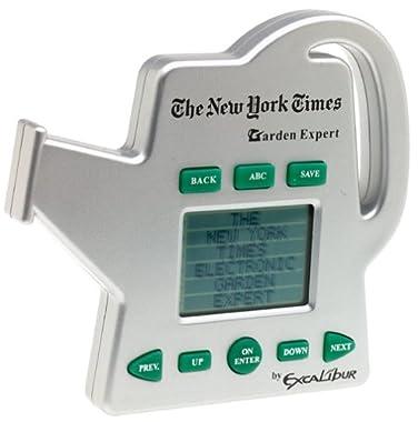New York Times Electronic Garden Expert again