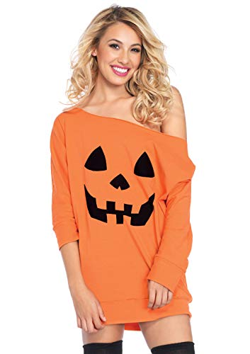 Cute Adult Costumes (Leg Avenue Women's Costume, Orange Pumpkin,)