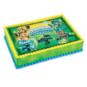 1 2 Sheet Cake Skylanders Swap Force Edible Topper