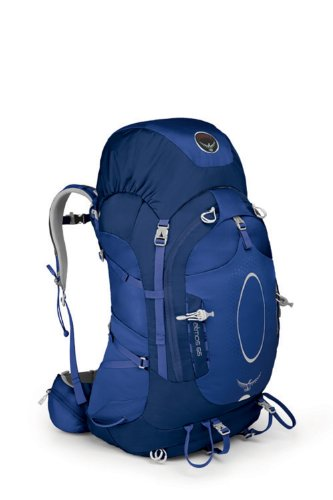 Osprey Packs Atmos 65 Backpack (Glacier Blue, Medium), Outdoor Stuffs