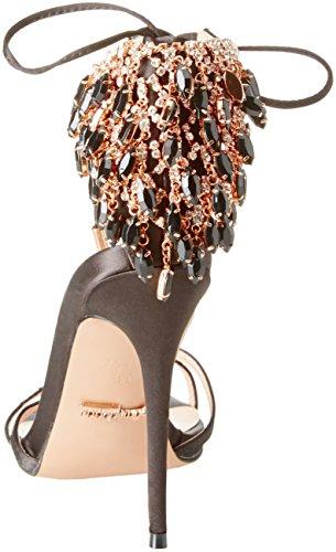 Primadonna Alla Sandalo Caviglia Cinturino Scarpe Con Nero Donna IaIxrRqP