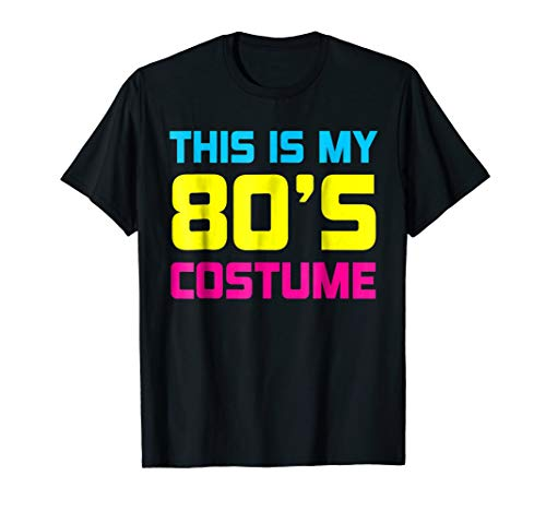 80s Costume Shirt 1980s Gift Ideas ()