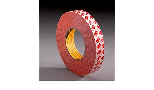3M Double Coated Tape,2 In x 5 yd. 9088 Clear